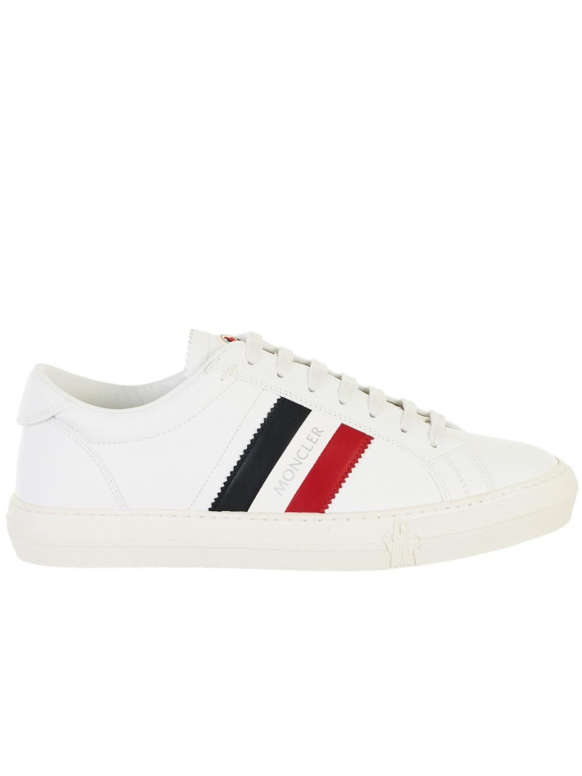 ae71646cb Lyst - Moncler Sneakers White in White for Men
