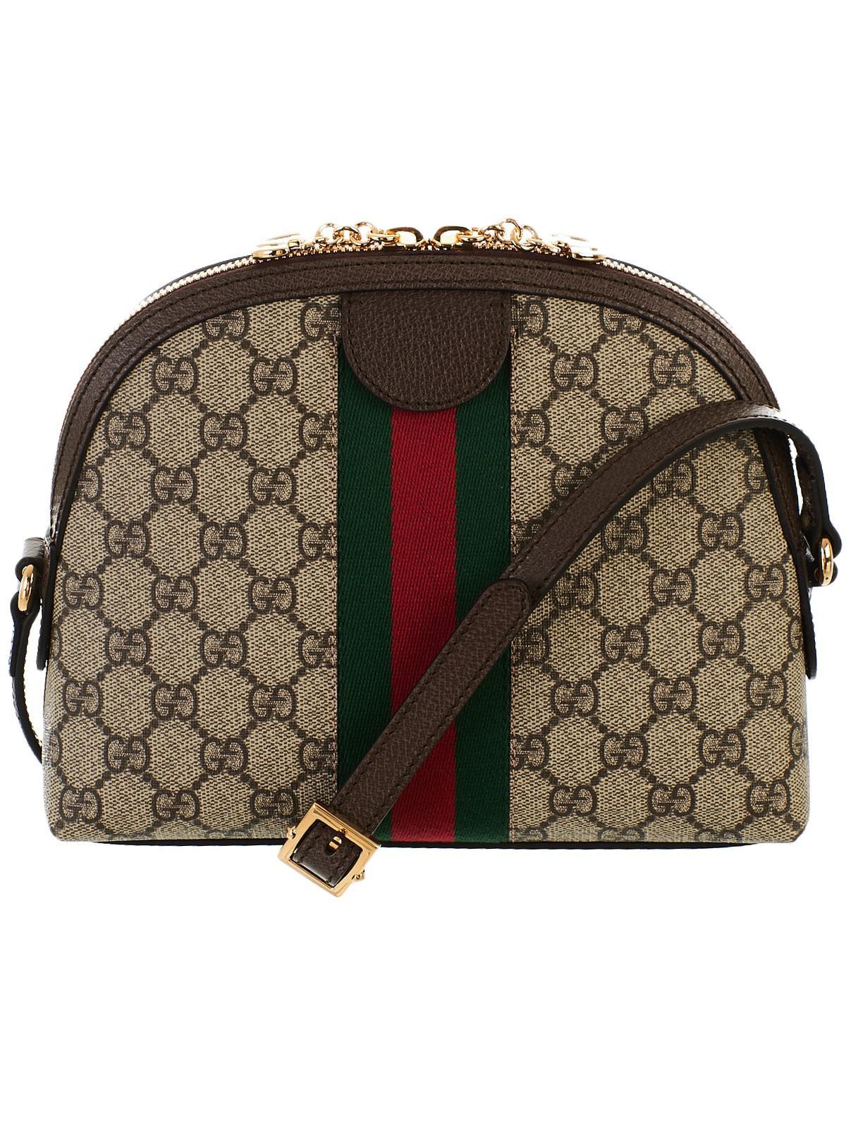 Lyst - Gucci Borsa Ophidia Web GG Supreme c46fe35abf7
