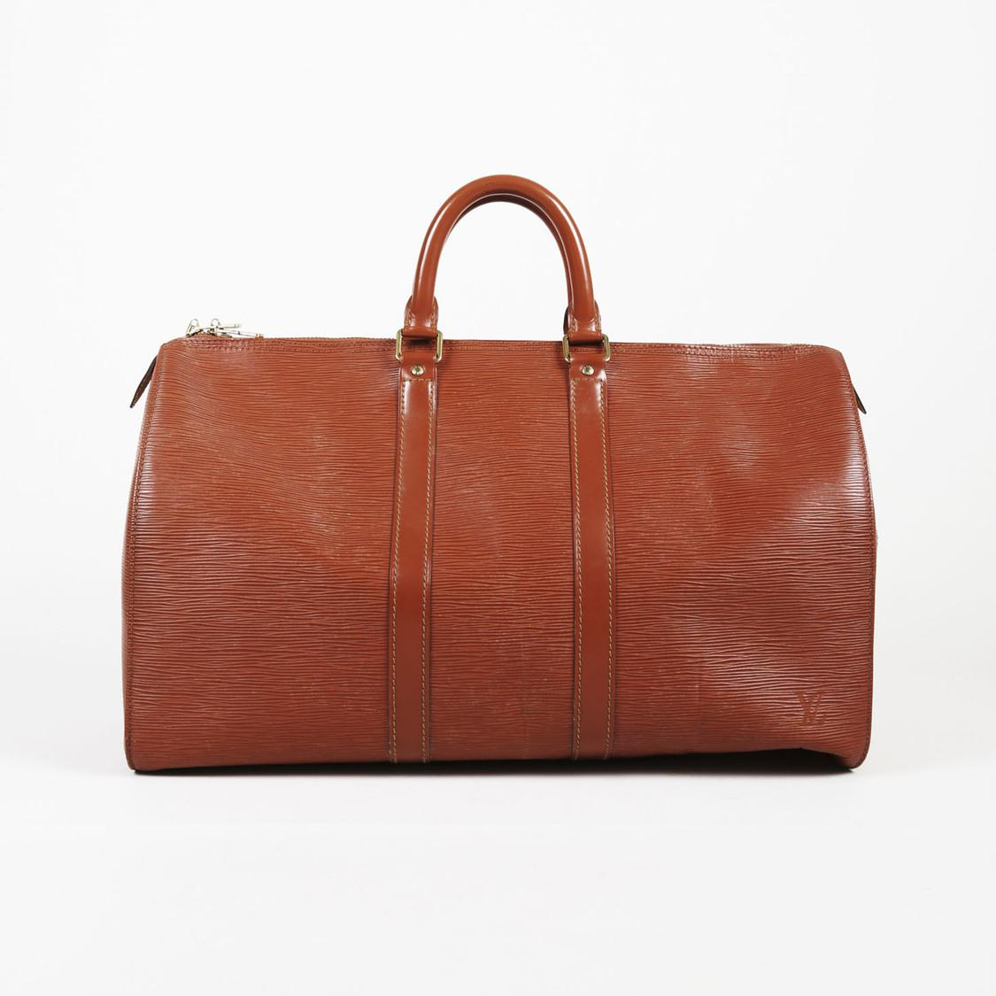 ffd23b6f2ab9 Louis Vuitton. Women s Vintage Brown Epi Leather