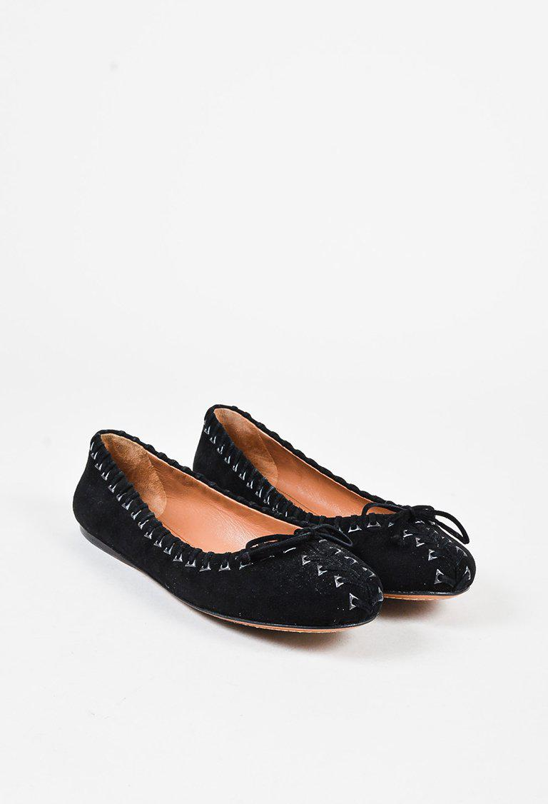Alaïa Lace-Up Round-Toe Flats discount shop for wholesale price for sale clearance low price cheap enjoy cheap sneakernews eIhJ6a9m