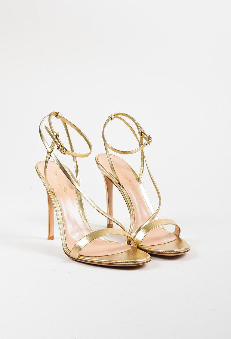 bd58abf6bf Gallery. Previously sold at: Luxury Garage Sale · Women's Gold Sandals