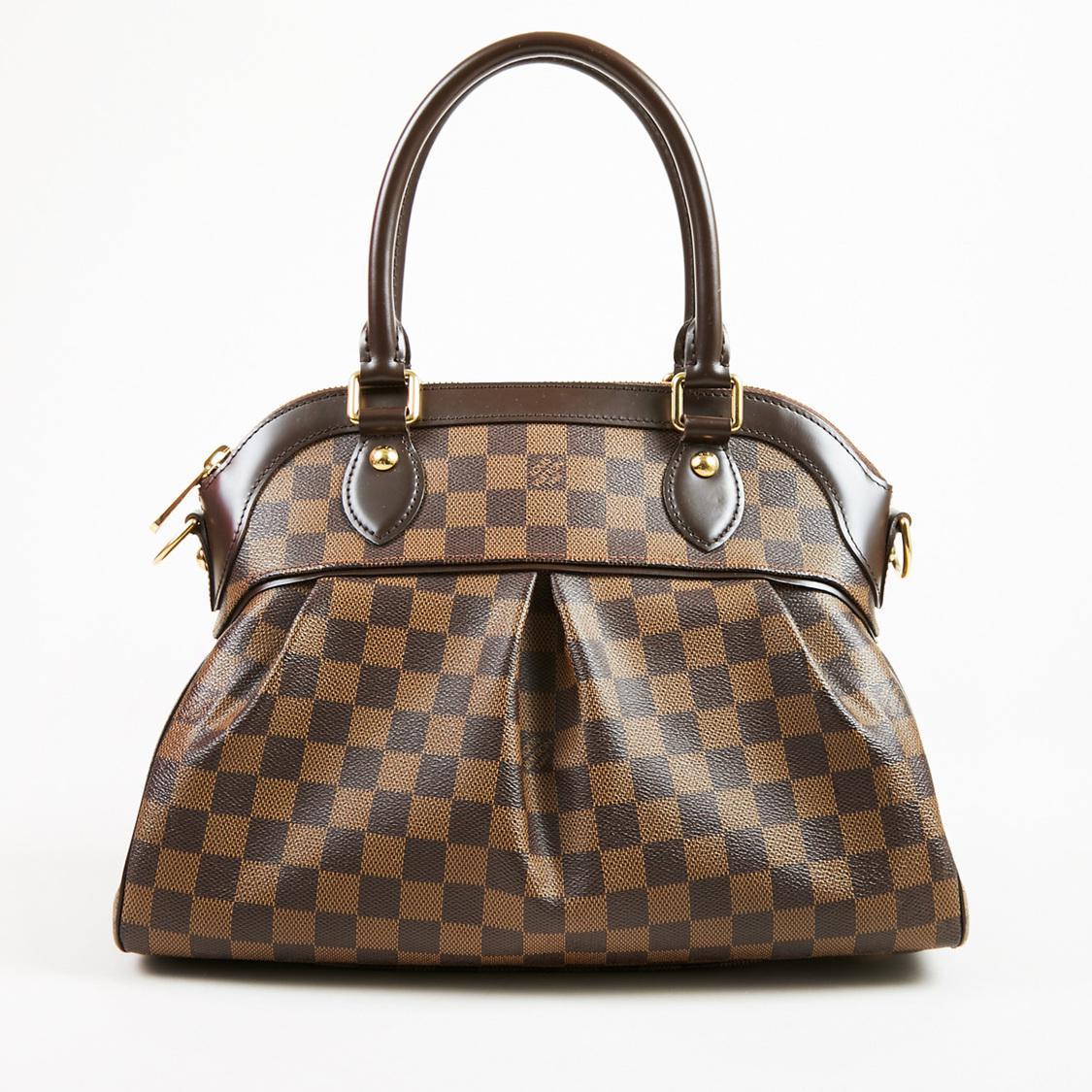 Louis Vuitton. Women s Brown Damier Ebene Coated Canvas Trevi Pm Shoulder  Bag.  3,207  1,530 From Luxury Garage Sale 27a0f02467