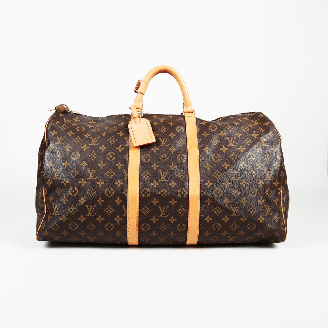 e5067dc07749 Lyst - Louis Vuitton Monogram Coated Canvas