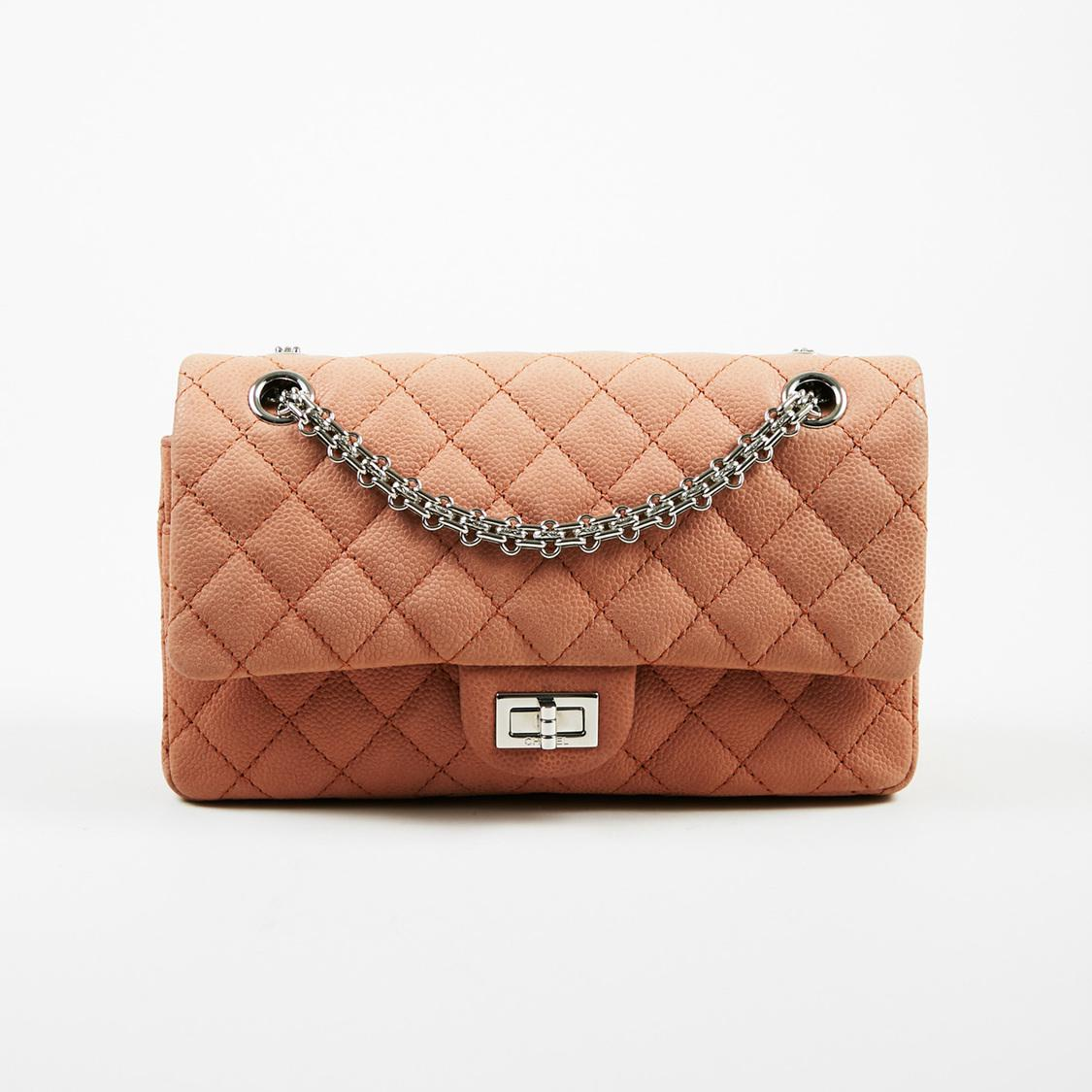 eb68c86c0eedc Chanel 2.55 Reissue Classic 227 Double Flap Caviar Leather Bag in ...