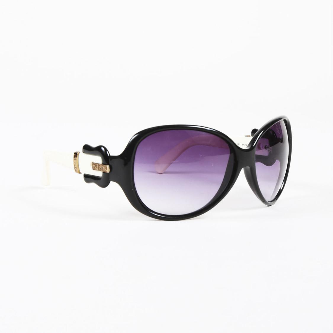 2ce67a249dd Fendi Black Cream   Purple