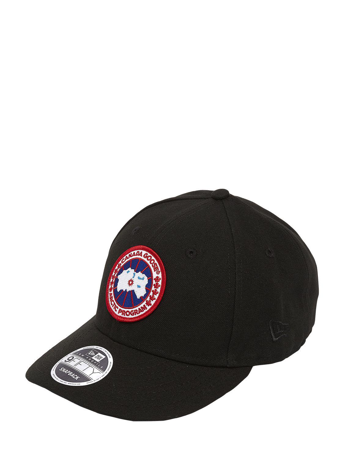 Canada Goose Core Cap New Era 9fifty Hat in Black for Men - Lyst 36eb049696b