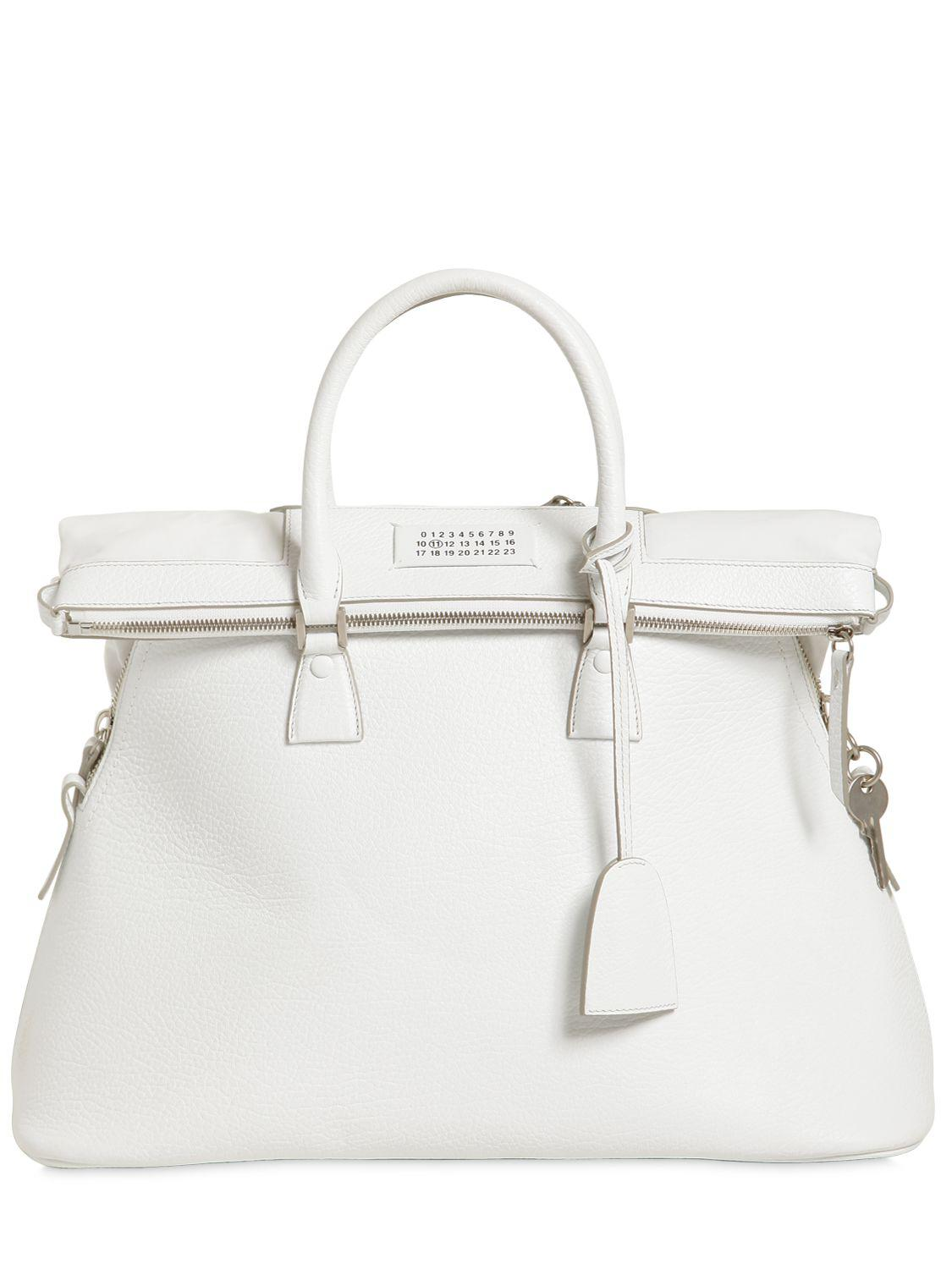 Cheap Footlocker 5AC Top Handle Bag in Crocodile Stamped Leather Maison Martin Margiela Discount Popular With Credit Card Choice Sale Online Get Authentic Online nXhnPJWb