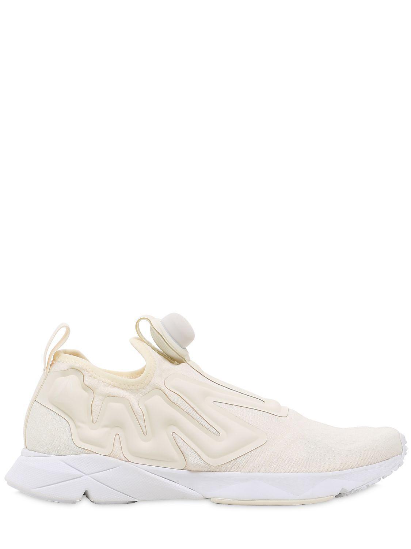 7076bc183d82 Lyst - Reebok Pump Supreme Guerrilla Sneakers in Natural for Men ...