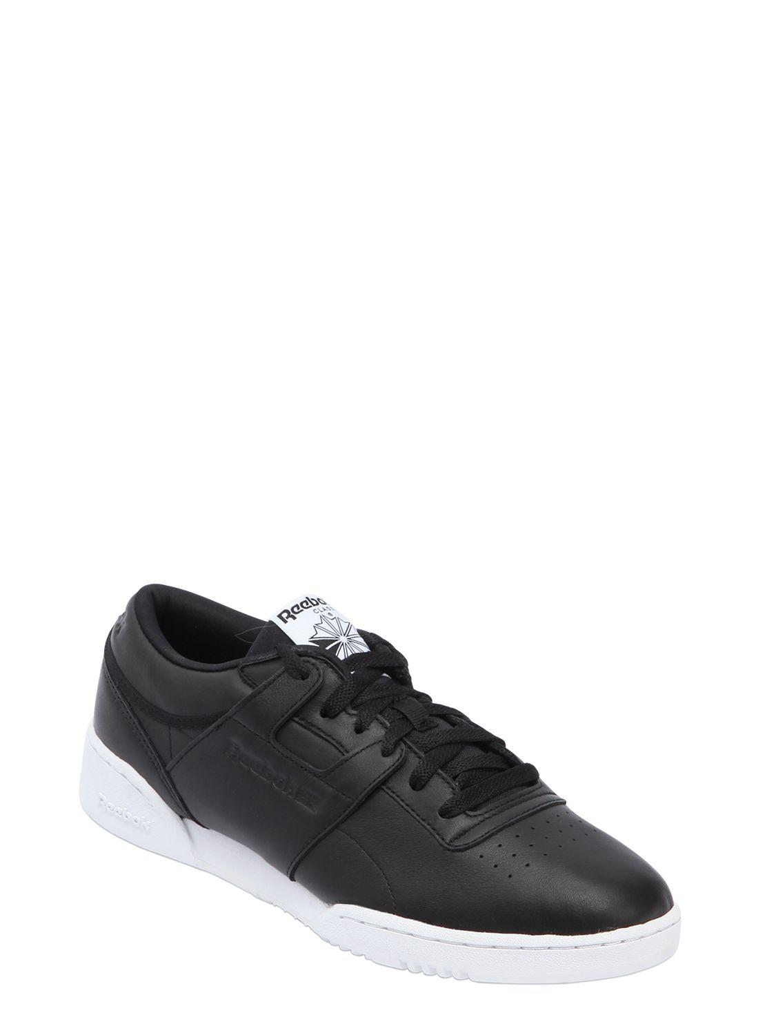 Reebok WORKOUT LOW CLEAN ID LEATHER SNEAKERS 5VrlQt4