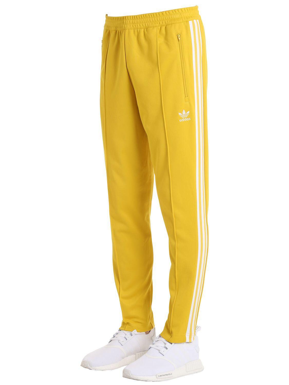 quality design 7d3ca 27aef adidas-originals-YELLOW-Franz-Beckenbauer-Pique-Track-Pants.jpeg