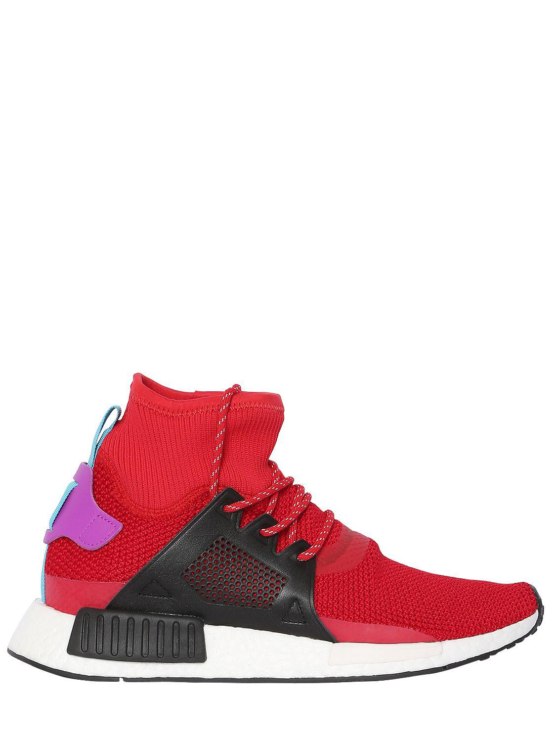 db688ba50f157 adidas Originals Nmd Xr1 Adventure Sneakers in Red for Men - Lyst
