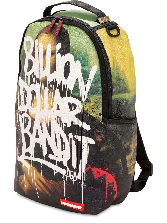 dd3b951f1ec8 Lyst - Sprayground Mona Lisa Vandal Backpack for Men