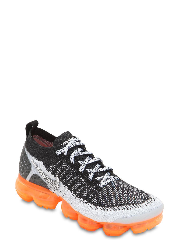 2dd10c0361448 Lyst - Nike Air Vapormax Vm Flyknit Safari Sneakers in Black for Men