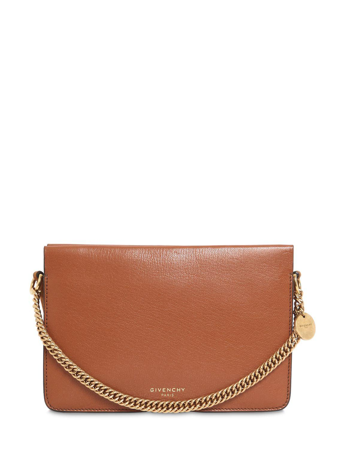 db78149b52d8 Givenchy Women s Dual Strap Crossbody Bag - Chestnut in Brown - Save ...
