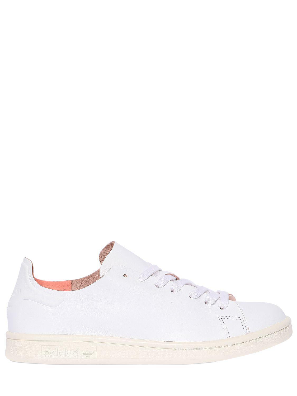 c981c3cff262 Lyst - adidas Originals Stan Smith Minimalist Sneakers in White