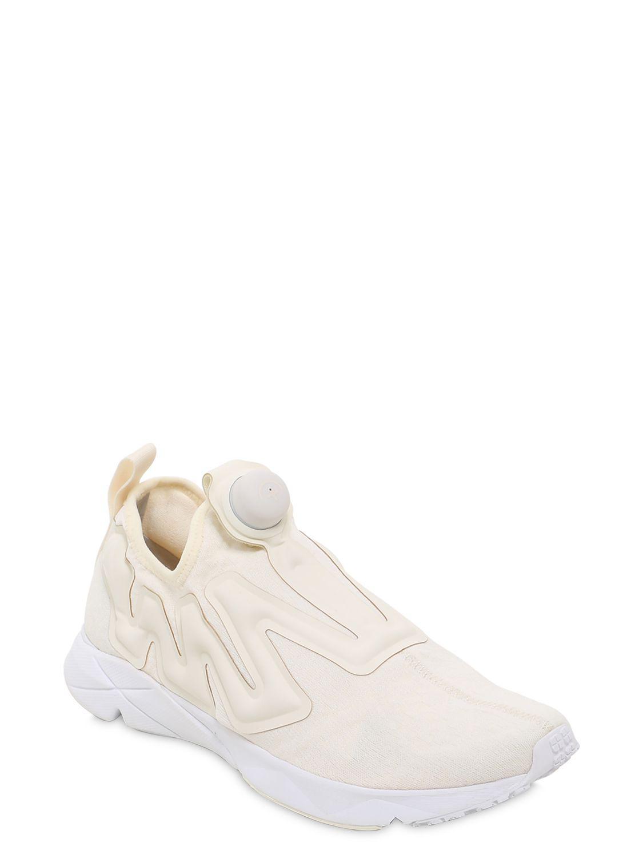 dbe5d50de4a8 Lyst - Reebok Pump Supreme Guerrilla Sneakers in Natural for Men - Save 14%