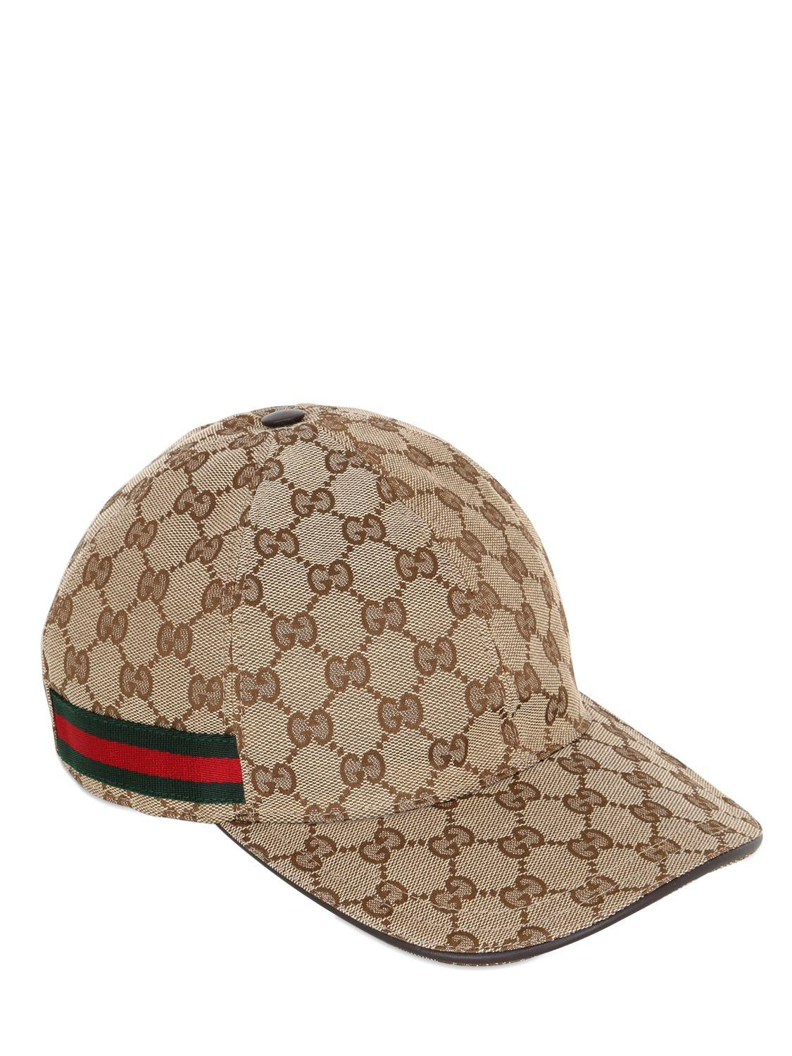 Gucci Beige Original GG Baseball Cap in Natural for Men - Save 17 ... 5aaeaa92bf1