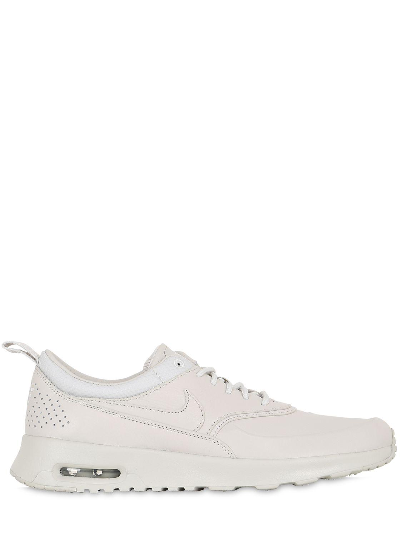 nike air max thea white leather