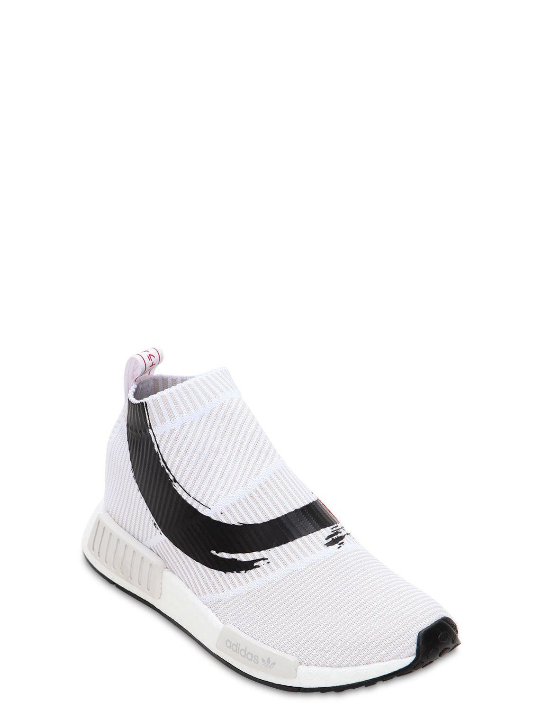 77e6474c73ca2 adidas Originals Nmd cs1 Primeknit Sneakers in White for Men - Lyst