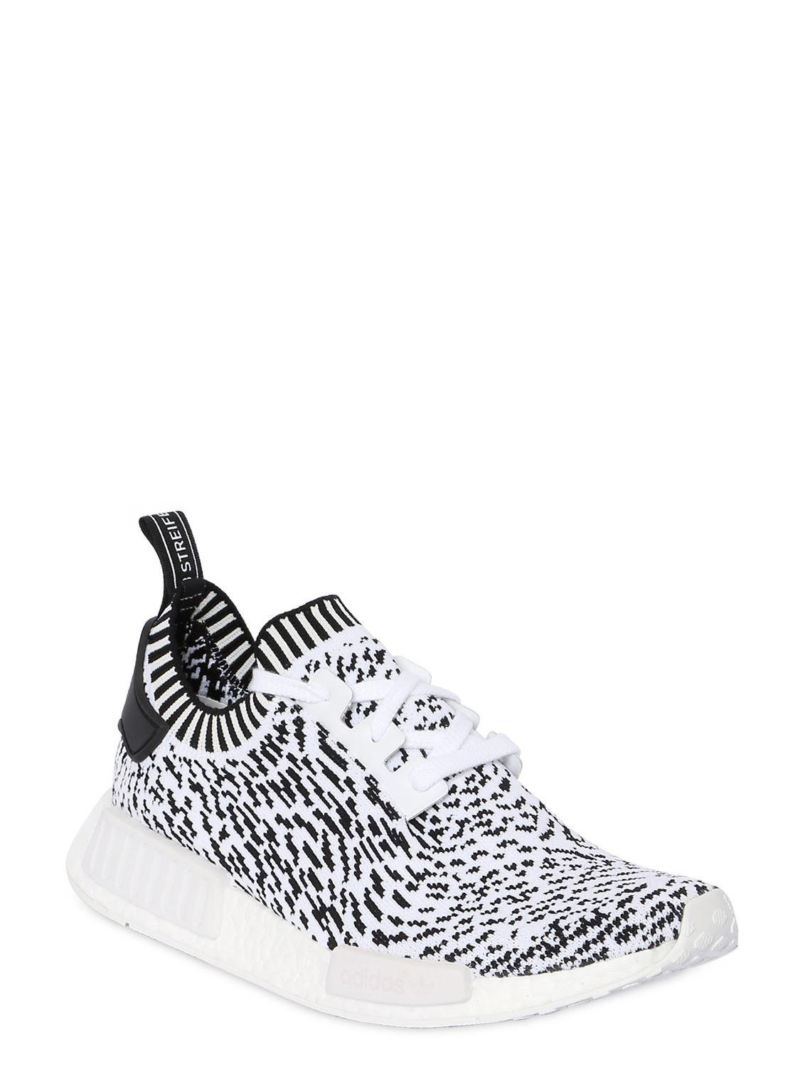 9314bee7e Lyst - adidas Originals Nmd R1 Primeknit Sneakers in White for Men - Save  15%