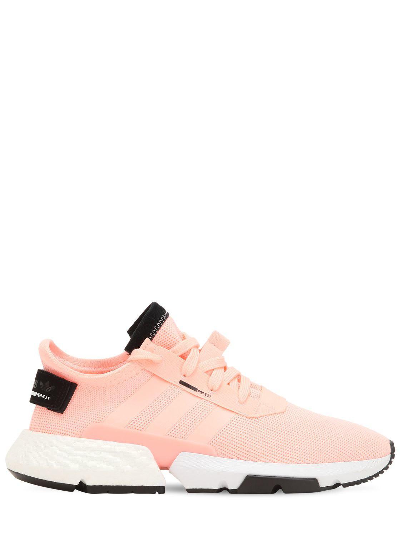 Adidas Originals pod zapatillas en color rosa Lyst