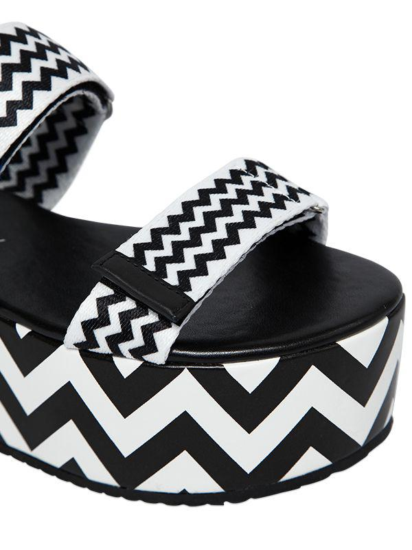 Katy perry 70MM ZOEY NYLON WEBBING WEDGE SANDALS 0kts6T2