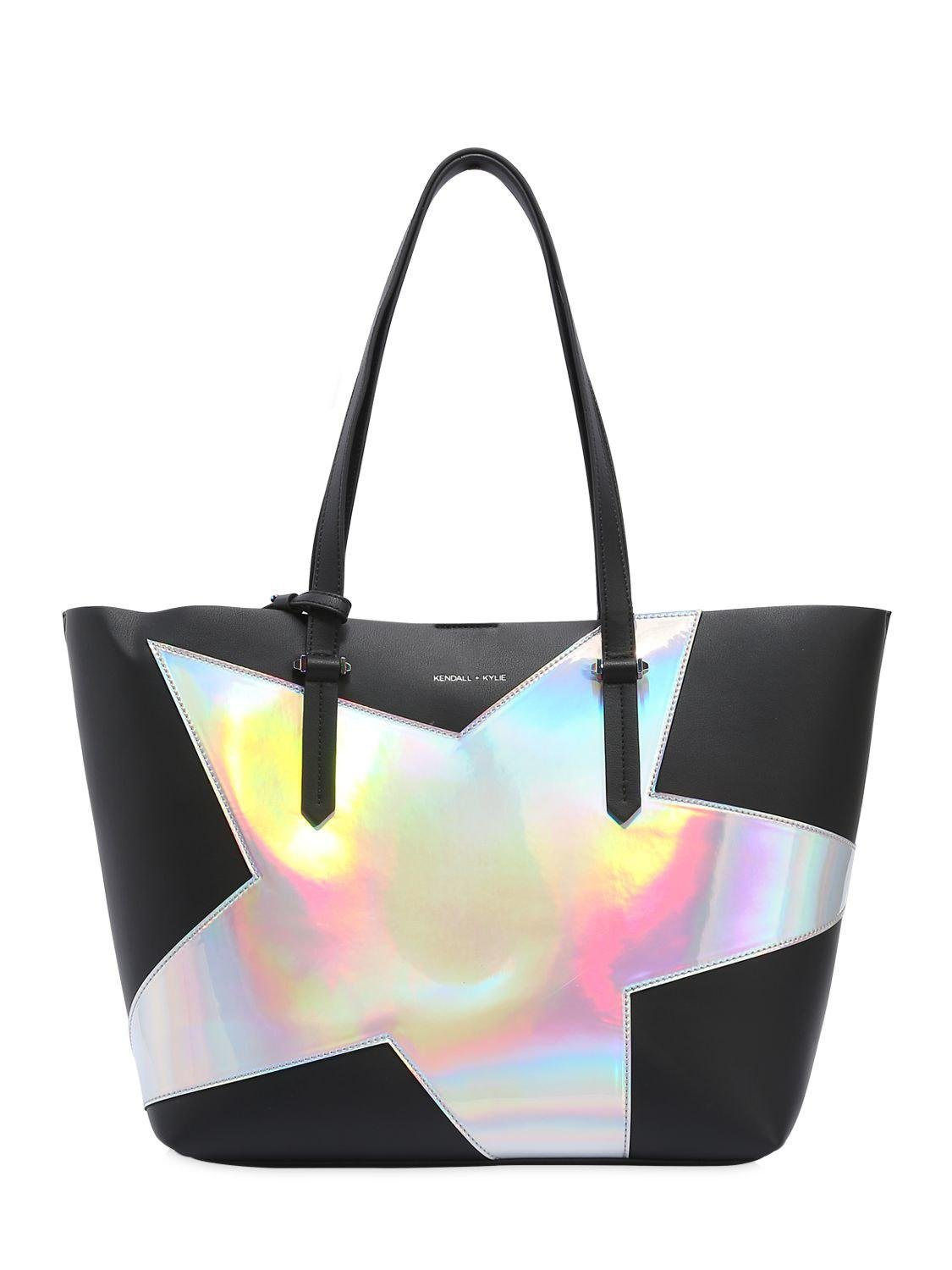Kendall + Kylie Silver eco-leather bag jWEunystg