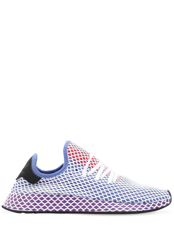82c24b5f95344 adidas Originals. Women s Deerupt Stretch Techno Sneakers