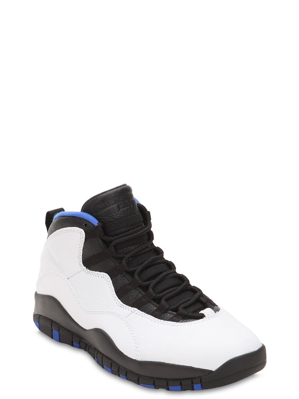 Lyst - Nike Air Jordan 10 Retro High Top Sneakers for Men ccd4ee2ad