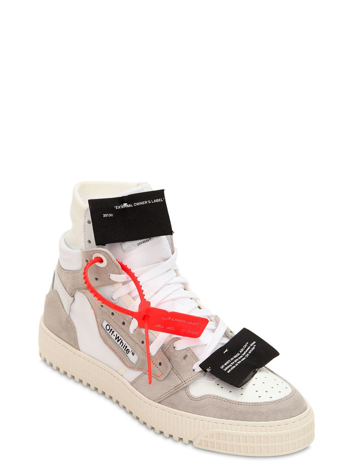a40290ad68e279 Off-White c/o Virgil Abloh Off Court High Top Sneakers for Men - Lyst