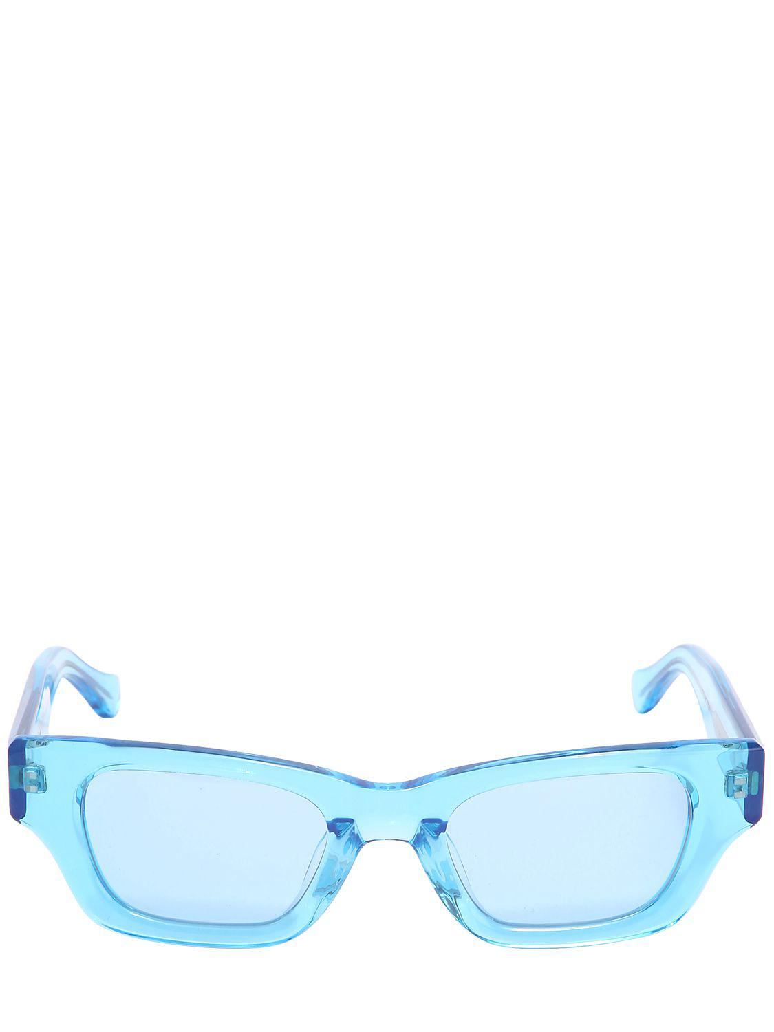 45c3e4fa138 Ambush Ray Acetate Squared Sunglasses in Blue - Lyst
