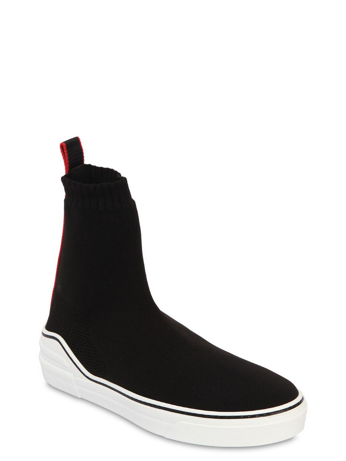 GivenchyGEORGE V KNIT SOCK ANKLE BOOT SNEAKERS