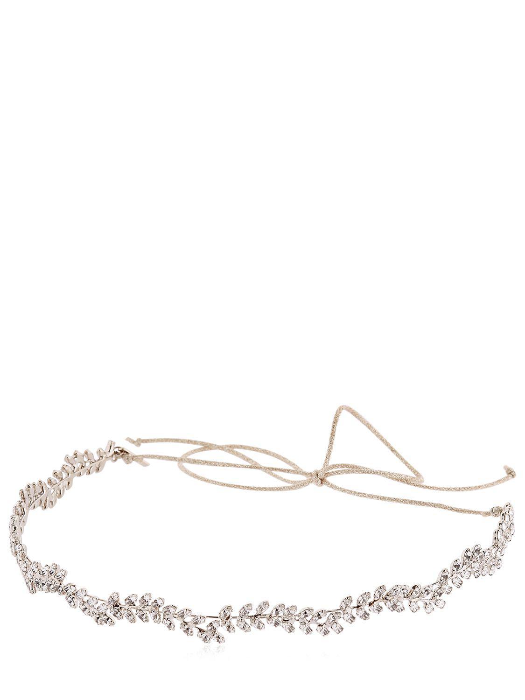 Jennifer Behr Viv Gold-tone Crystal Headband gMJ6RWaY