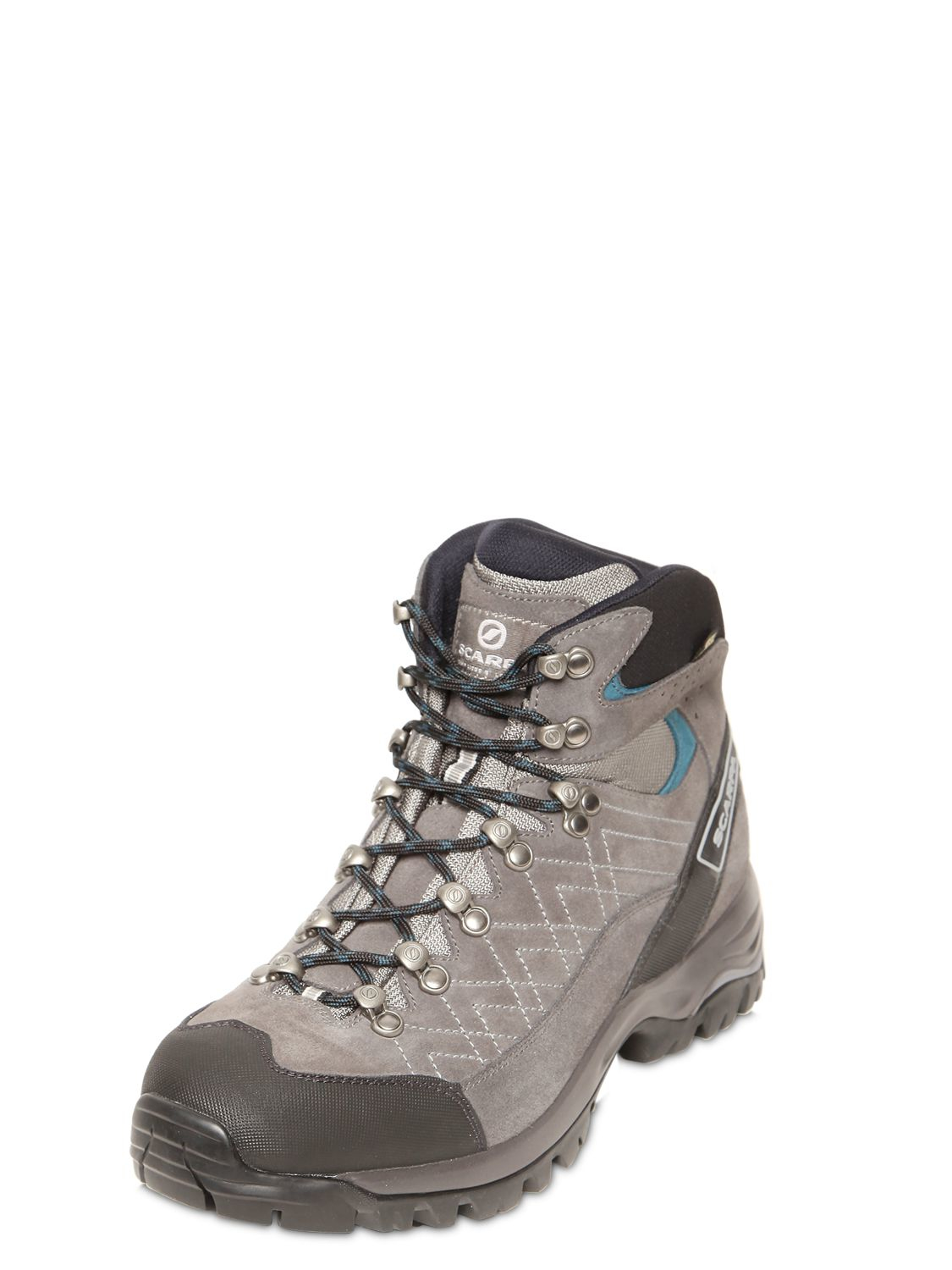 Lyst Scarpa Kailash Suede Trekking Boots In Gray For Men