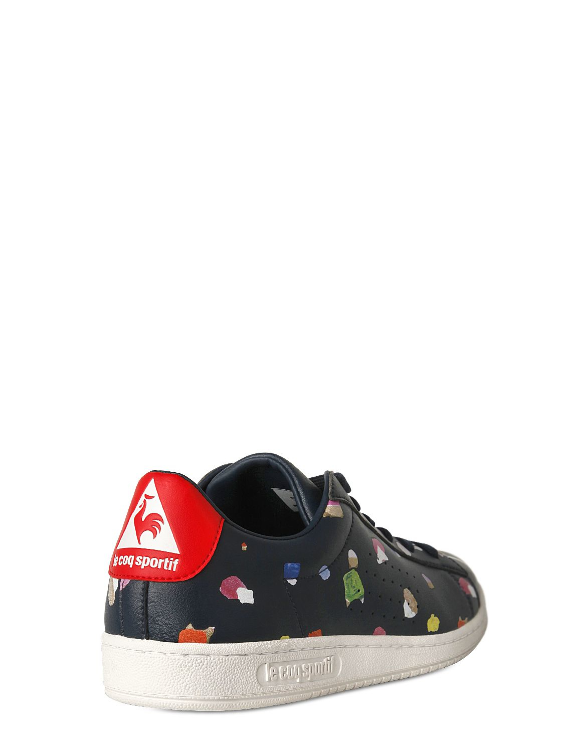 67442258a5b0 Lyst - Tsumori Chisato Le Coq Sportif Printed Vinyl Sneakers in Blue for Men