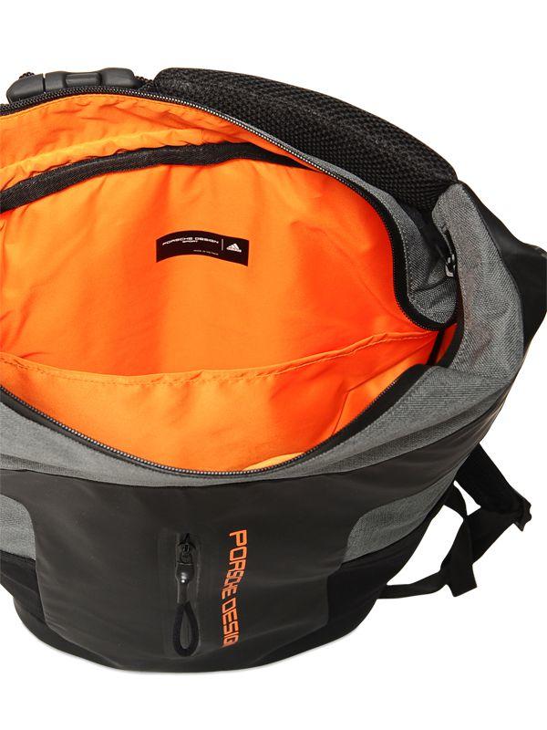porsche design cargo backpack in black for men lyst. Black Bedroom Furniture Sets. Home Design Ideas