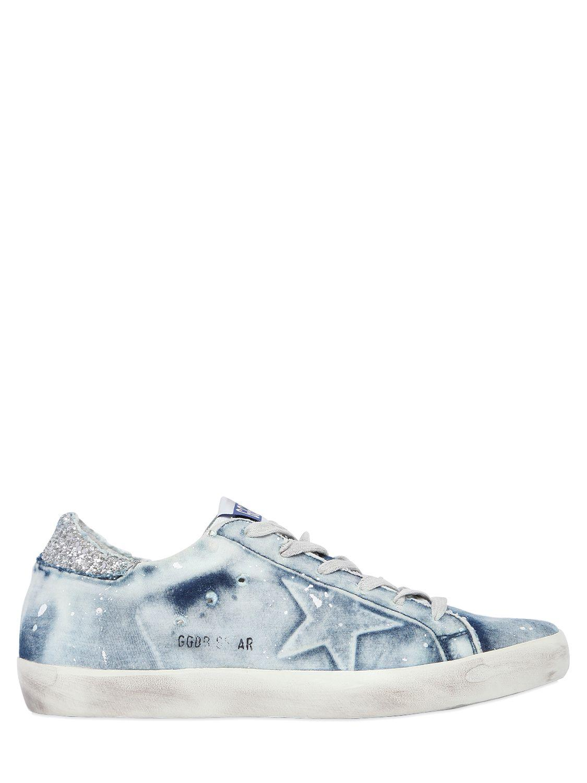 Hobbs Blue Glitter Shoes
