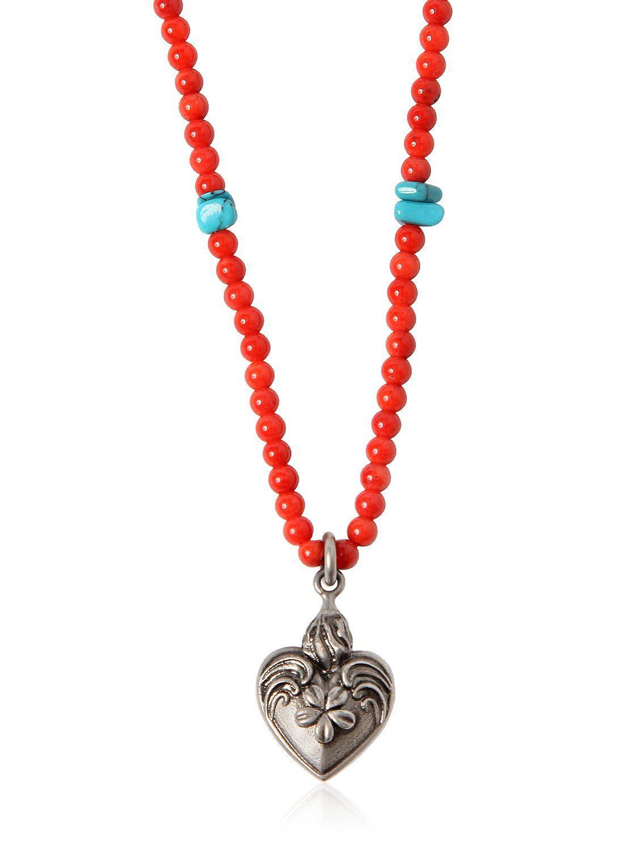 Santeria Beads and charms necklace Valentino vNAV8fH