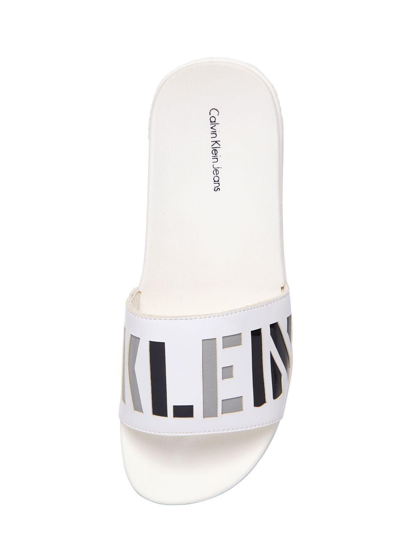 Calvin Klein JeansEGLANTINE - Mules - white TOI7nTS