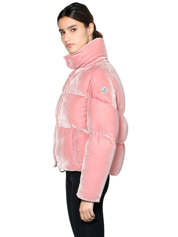 93eebafdcff2 australia moncler vest pink velour high heel f5f65 90617
