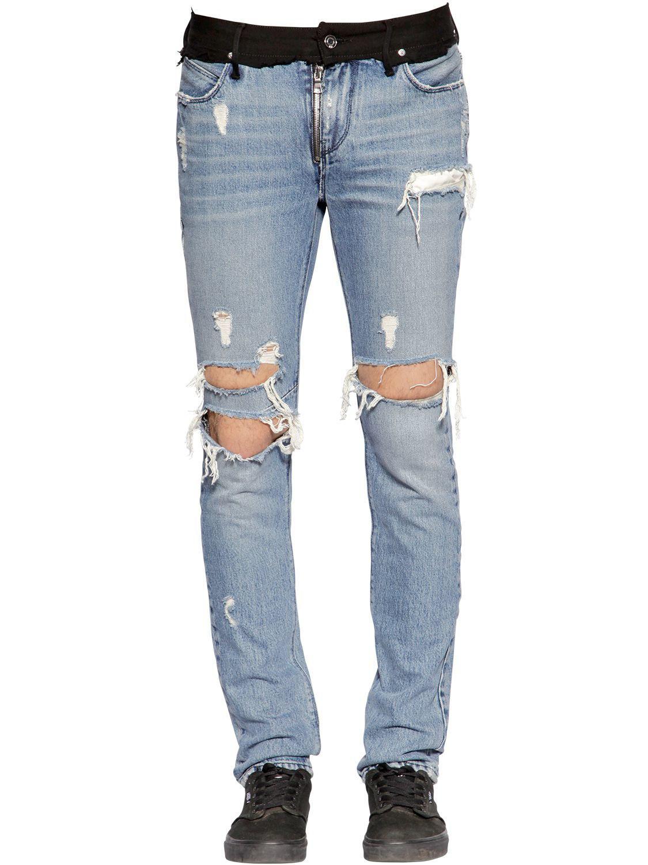 Skinny Jeans Blue Men Tone Two 5cm For Lyst In 16 Denim Rta nxFRUq
