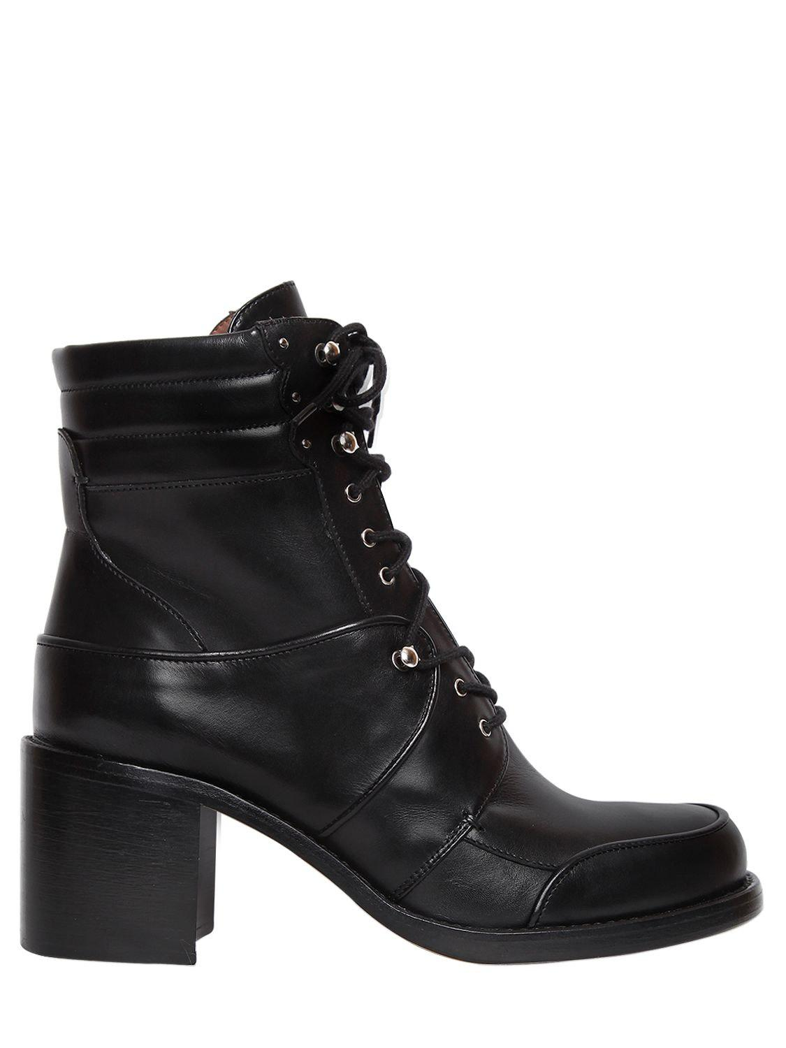 Max Leather Combat Boots Tabitha Simmons