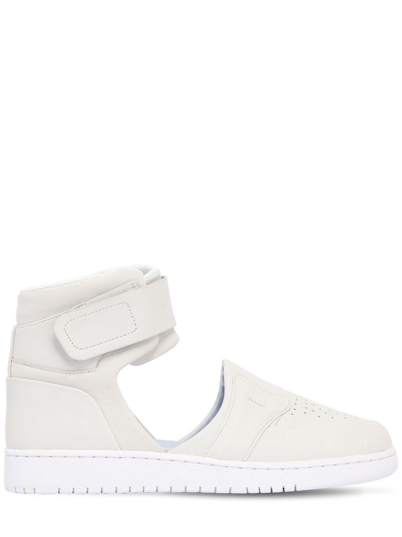 72642acfc136 Nike Air Jordan 1 Lover Xx Cutout Sneakers in White - Lyst