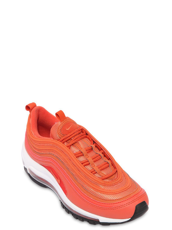 Nike - Orange Air Max 97 Sneakers - Lyst. View fullscreen 61177496c