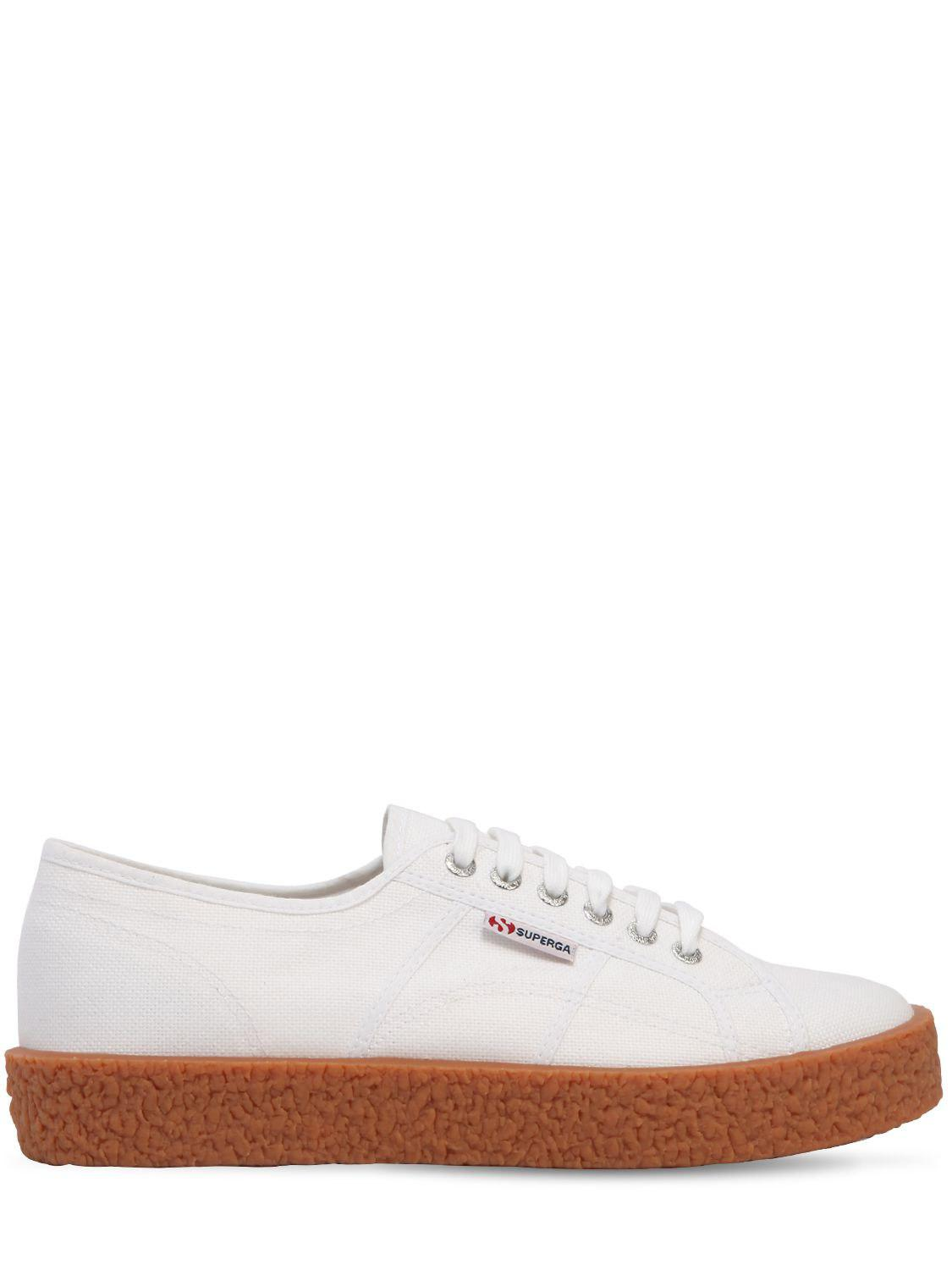 37d2218922d4fe Superga 30mm Hohe Sneakers Aus Canvas