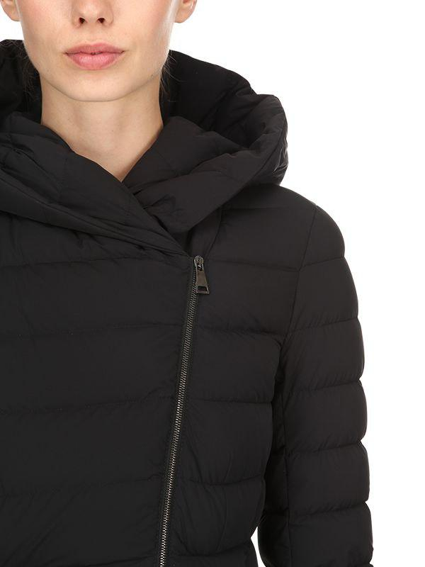 9c2601ff06faa Moncler - Black Barge Nylon Down Coat - Lyst. View fullscreen