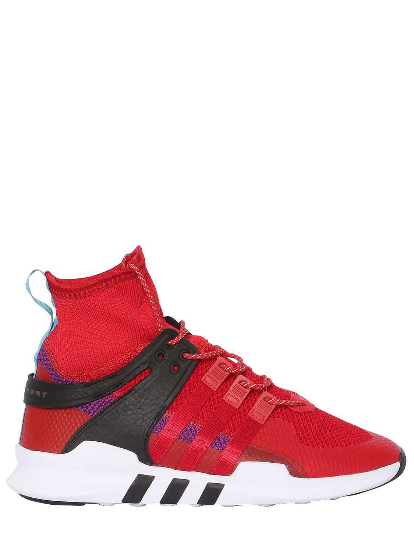info for 358fc f7e8f ... sale adidas originals. mens red eqt support adv trainers 39ccb feec2