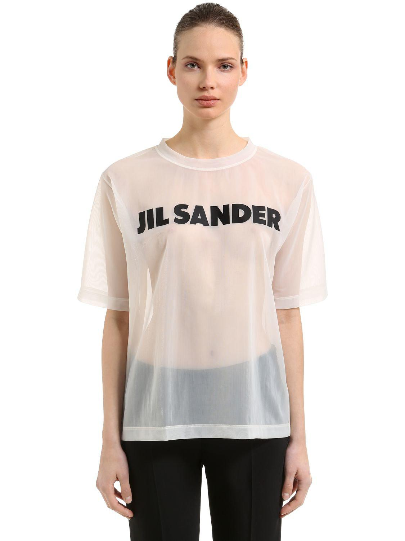 pailette sequin tee - White Jil Sander Cheap Sale 100% Guaranteed Buy Cheap Big Discount Nicekicks Very Cheap Cheap Online Cheapest Price For Sale h19p1