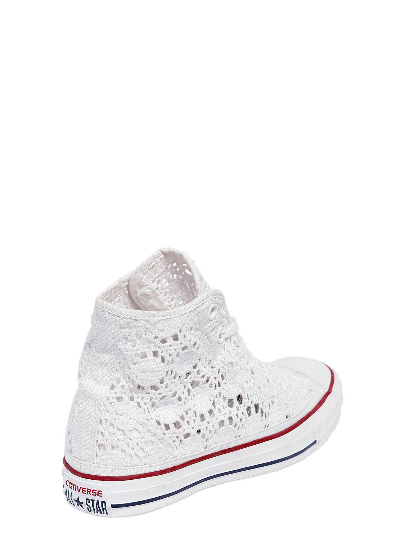Lyst White Vq4iwxp Hekle Taylor Chuck In Sneakers Converse xWdBCoer