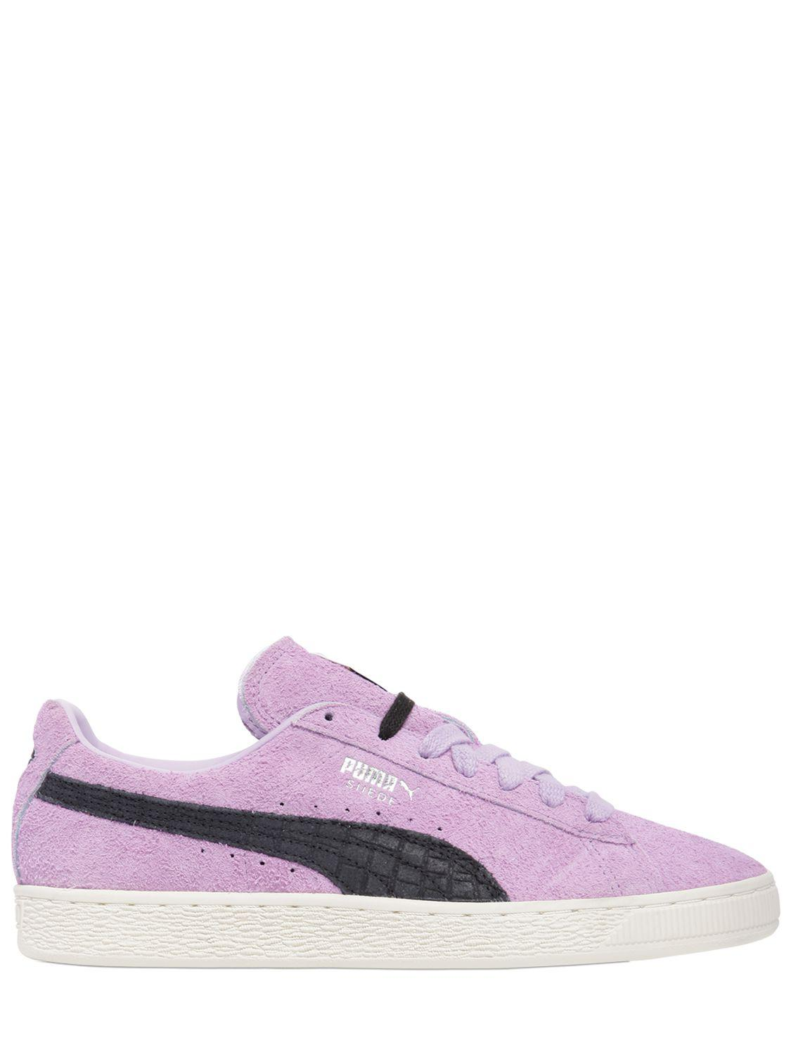 Suede Trainer - Pink Selected rnP43i